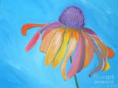 Painting - Coneflower by Sandra Yuen MacKay