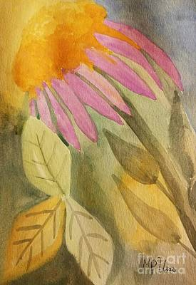 Painting - Coneflower Watercolor by Maria Urso