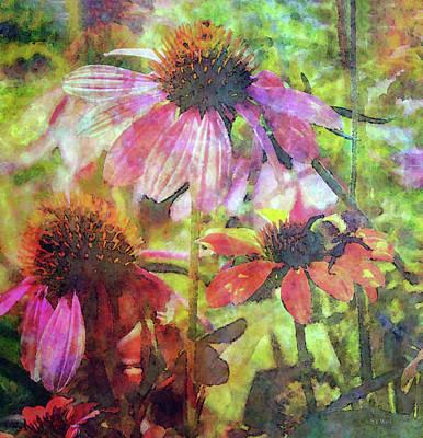 Fleetwood Mac - Coneflowers and Bee 2051 IDP_2 by Steven Ward