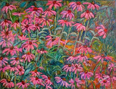 Painting - Coneflowers by Kendall Kessler