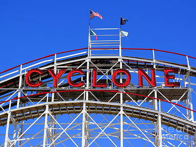 Photograph - Coney Cyclone by Ed Weidman