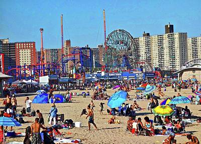 Photograph - Coney Island Beach by Joan Reese