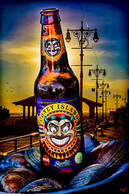 Beer Royalty-Free and Rights-Managed Images - Coney Island Beer by Chris Lord