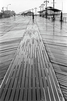 Photograph - Coney Island Boardwalk by Dave Beckerman