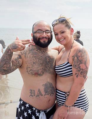 Photograph - Coney Island Couple, New York  #234970 by John Bald