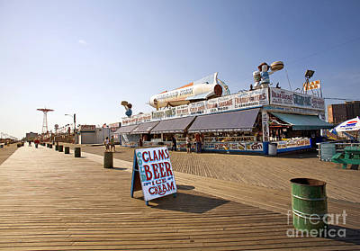 Coney Island Memories 7 Art Print by Madeline Ellis