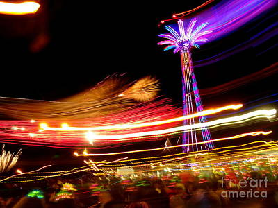 Photograph - Coney Island New Years Eve #1 by Ed Weidman