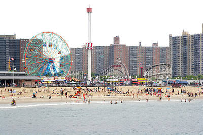 Enjoyment Photograph - Coney Island, New York by Ryan McVay
