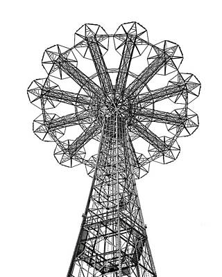 Photograph - Coney Island Parachute Jump No. 1-2 by Sandy Taylor