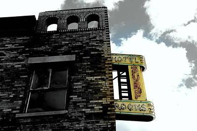 Coney Island Past  Original by Bella Rodriguez