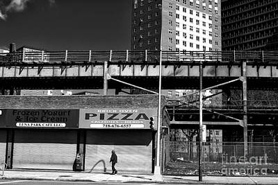 Photograph - Coney Island Pizza by John Rizzuto