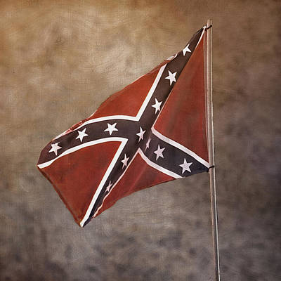 Confederate Battle Flag Art Print
