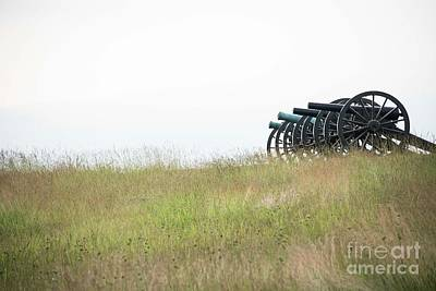 Photograph - Confederate Cannons  - Antietem by David Bearden
