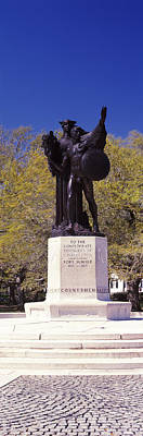 Confederate Monument Photograph - Confederate Defenders Statue In A Park by Panoramic Images