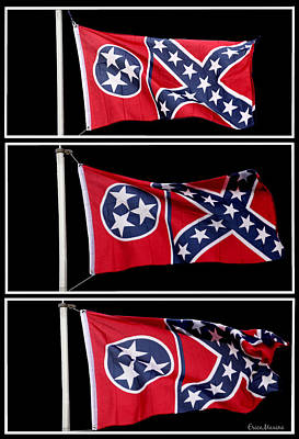 Photograph - Confederate Flag by Ericamaxine Price