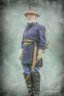 Digital Art - Confederate General Robert E Lee  by Randy Steele