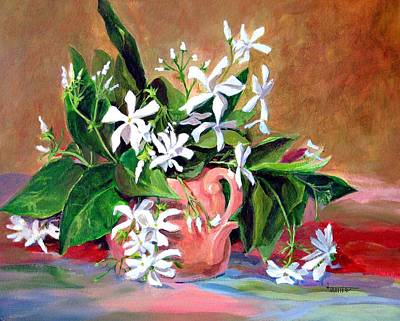 Confederate Jasmine Art Print by Jimmie Trotter