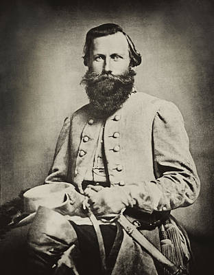 Faust Photograph - Confederate Jeb Stuart by Paul W Faust -  Impressions of Light