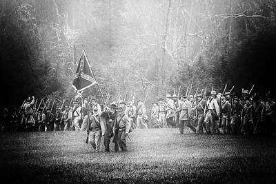 Photograph - Confederate March by Alan Raasch