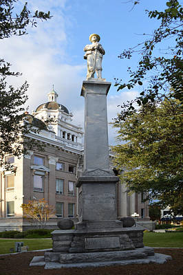 Photograph - Confederate States Of America Monument by rd Erickson