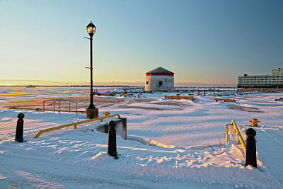 Photograph - Confederation Harbor In Winter by Jim Vance