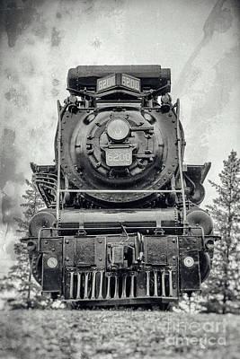 Keith Richards - Confederation Steam Locomotive 6200 - View-2 by Robert McAlpine