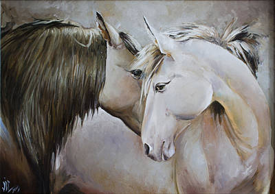 Painting - Confesion by Vali Irina Ciobanu