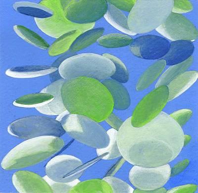 Painting - Confetis by Muriel Dolemieux