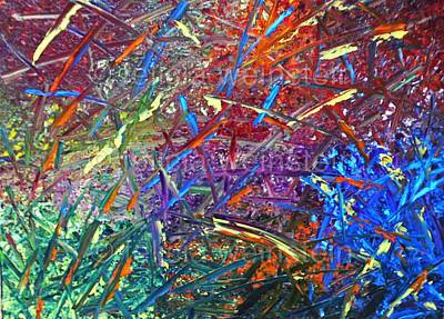 Painting - Confetti by Felicia Weinstein