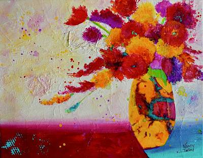 Painting - Confetti by Nancy Jolley