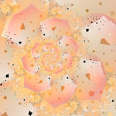 Digital Art - Confetti Pastel by Michelle H