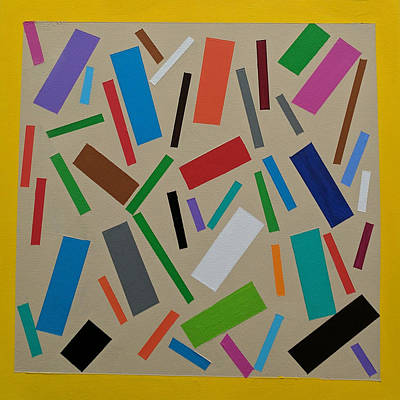 Painting - Confetti by Tom Petitclerc