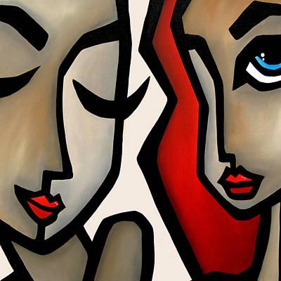 Confide Art Print by Tom Fedro - Fidostudio
