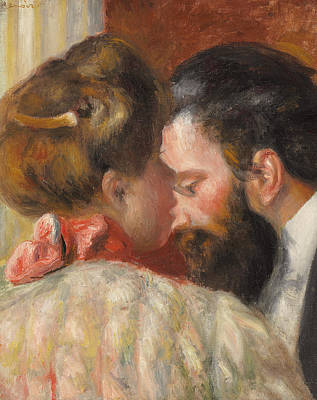 Confidence Art Print by Pierre Auguste Renoir