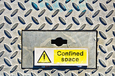 Confined Space Art Print by Tom Gowanlock