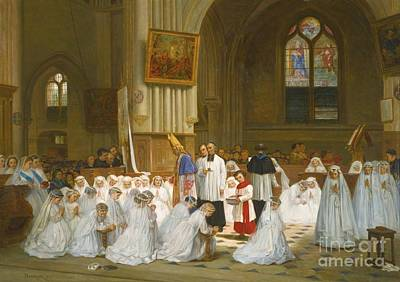 Confirmation Painting - Confirmation Villiers-le-bel by MotionAge Designs