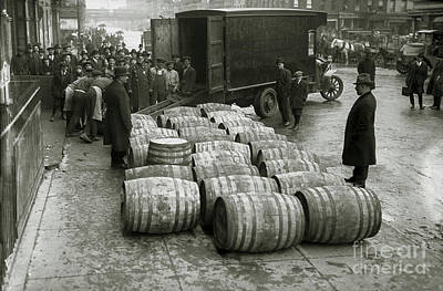 Capone Photograph - Confiscated The Beer by Jon Neidert