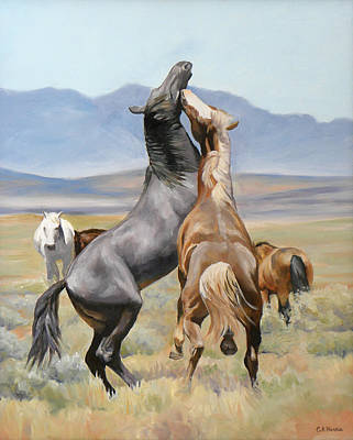 Painting - Conflict Resolution by Carole Andreen-Harris