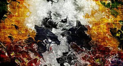 Conflict Art Print by The Art Of JudiLynn