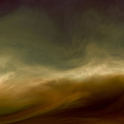 Sublime Digital Art - Conflicting Storms by Lonnie Christopher