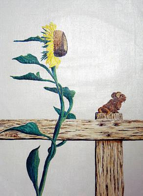 Confluence Art Print by A  Robert Malcom