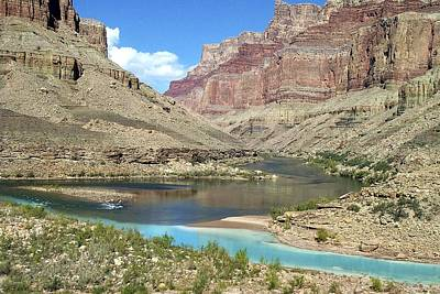 Photograph - Confluence Of Colorado And Little Colorado Rivers Grand Canyon National Park by NaturesPix