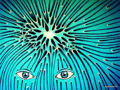 Confluence Art Print by Paulo Zerbato
