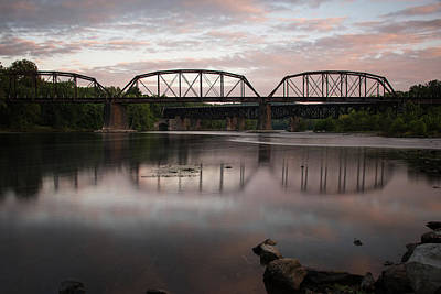 Photograph - Conflux Of The Lehigh And The Delaware by Jennifer Ancker