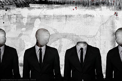 Conformity Digital Art - Conformity by Ash Sivils