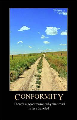 Digital Art - Conformity by John Haldane