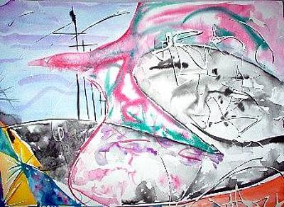 Danny Garcia Painting - Confusion by Danny Garcia
