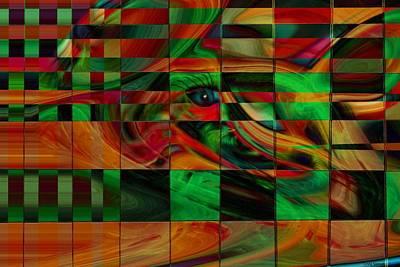 Confusion Art Print by Linda Sannuti