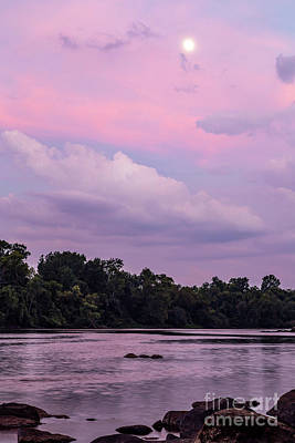 Photograph - Congaree River At Dusk by Charles Hite