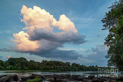 Photograph - Congaree River Near Dusk by Charles Hite